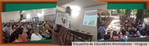 encuentro de educadores anunciatistass Uruguay